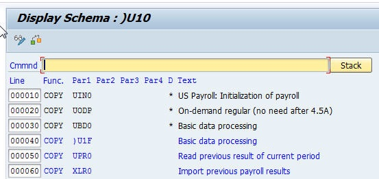 SAP Payroll Basics: Schema Structure | Insight Consulting